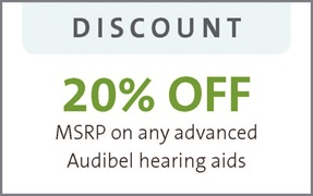 20% off any advanced hearing aids